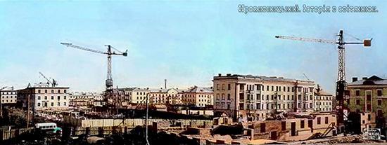 Микрорайон Пять-пять, 1958