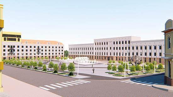 дизайн новой площади