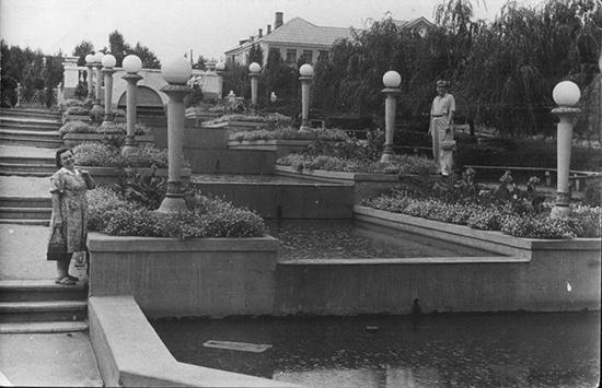 Каскадные фонтаны