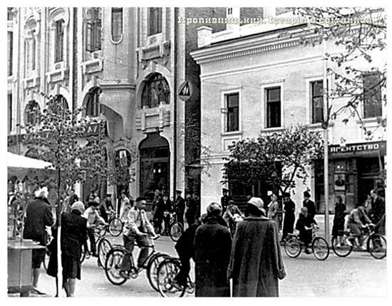 Велопробег 1957 год