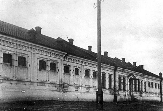 здание тюрьмы СД