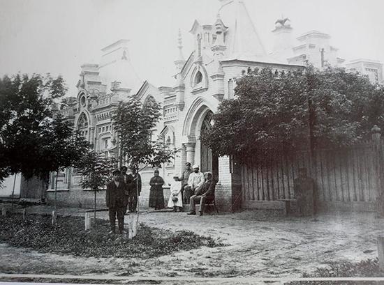 дом Осмеркина