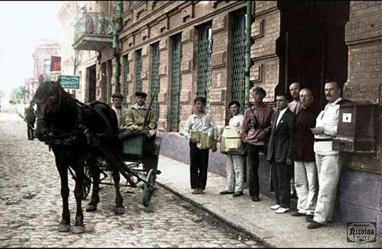 конная почта Зиновьевской почтовой конторы